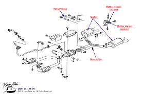 keen corvette 1989 corvette exhaust system parts parts accessories for corvettes