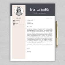 resume modern fonts for logos resume template cv template professional resume modern cv