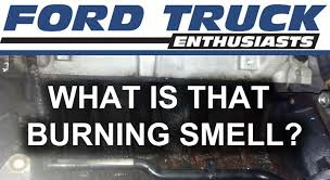 Rug Smells Like Burnt Rubber What Is That Burning Smell In My Ford Truck Youtube