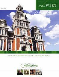 van wert oh 2009 chamber membership directory and community van wert oh 2009 chamber membership directory and community profile by communitylink issuu