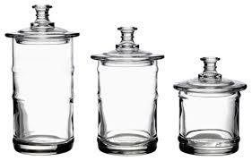 glass kitchen storage canisters la rochere glass kitchen storage jars traditional glass