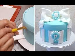 gift box cake birthday cake ideas by cakes stepbystep