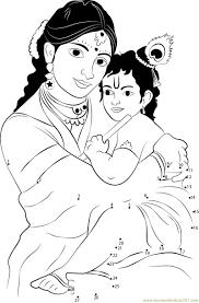 yashoda and krishna images in drawing drawing of sketch