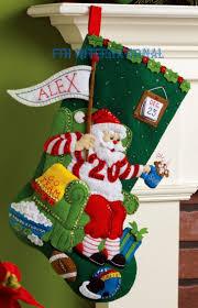 christmas christmas stocking kits felt stockings ideas kids