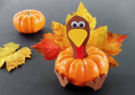 pumpkin turkey thanksgiving craft for kids growing up bilingual