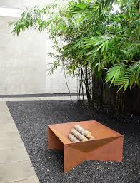 Firepit Images Plodes Geometric Pit Design Within Reach