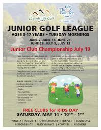 2016 junior golf programs u2013 registration now open tooele city