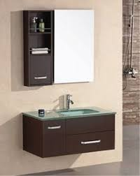 Bathroom Vanity With Offset Sink This Beautiful Floating Vanity From Iotti Has Plenty Of Storage