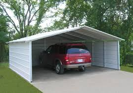 Houses With Carports Garage Portable Garage Costco For Easy To Install Garage Canopies