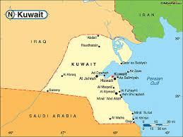 kuwait on a map areas of kuwait kuwait india indian community portal