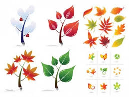 christmas leaves vector free vectors on ifreepic com