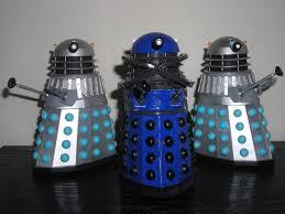 my shiny toy robots custom figure dalek time controller
