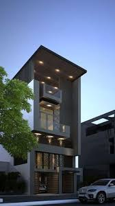 OKM Is A  Story Building Designed For A Private Residence And - Apartment architectural design