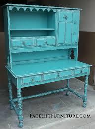 Antique Desk With Hutch Antique Desk Hutch Desks Vanities Painted Glazed Distressed