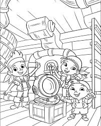 jake land pirates coloring pages
