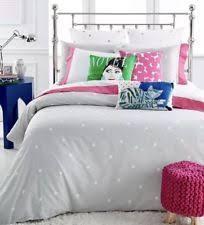 Polka Dot Bed Set Kate Spade New York Polka Dot Duvet Covers Bedding Sets Ebay