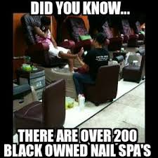 did you know there are over 200 black owned nail salons bbnomics