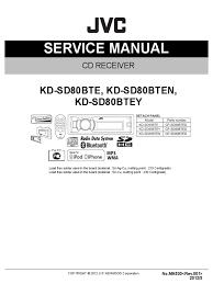 kd sd80bte sd80bten sd80btey sm ma530 rev 001