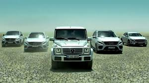 mercedes suv range mercedes showcases its suv range image 372880
