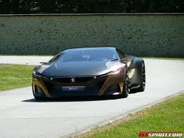 Peugeot Onyx Concept Car To Lead Their Models At Goodwood 2013