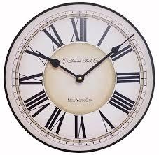 early dawn wall clock 24