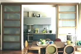 cuisine avec porte coulissante porte coulissante separation cuisine porte coulissante cuisine porte