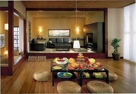 Traditional Japanese Bedroom Furniture - furniture japanese living room with square black wood coffee