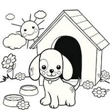 dog and puppy coloring pages a puppy for christmas a free printable coloring page printable