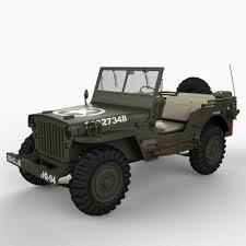 willys jeep willys jeep 3d model cgstudio