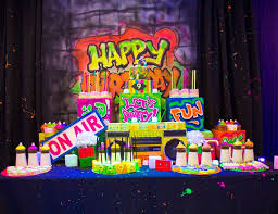 glow party ideas neon party ideas for a boy birthday catch my party