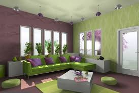 home interior color combinations beautiful fresh purple and green interior color scheme living room