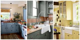 ideas for refinishing kitchen cabinets 15 best kitchen color ideas paint and color schemes for kitchens
