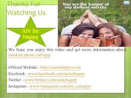 Best Online Dating App for Girls   iUV   Free International Calling A    SlideShare