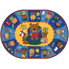 Kids Classroom Rugs Sign Language Rugs Signing Classroom Rugs Daycare Rugs