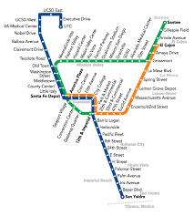 Trolley San Diego Map by Red And Green Create A New Blue San Diego Metropolitan