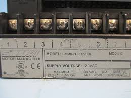 ge multilin smmii pd 512 120 si motor manager ii smmiipd512120