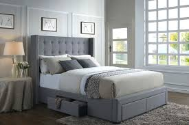 King Size Bed Frame With Storage Underneath Platform Bed With Storage Underneath Bed Bed And Storage Fabric