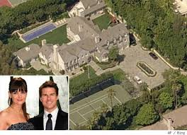 tom cruise mansion the many houses of tom cruise and katie holmes aol finance