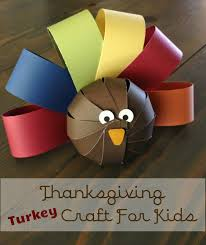 be brave keep going cute paper turkey craft for kids