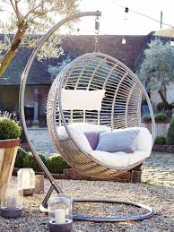 fauteuil suspendu jardin 34 idées d aménagement extérieur