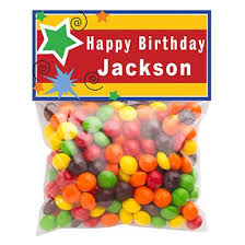 Birthday Favor by Shop Personalized Birthday Favors Shindigz