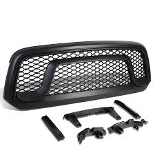 abs and brake light on dodge ram 1500 17 dodge ram 1500 abs plastic oe style rebel front grille black