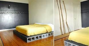 Diy Platform Bed Diy Platform Bed Frame How To Build A Bed Frame Genius Bob Vila