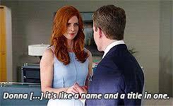 Suits Meme - suits meme 1 favourite donna quotes find make share gfycat gifs