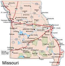 missouri map columbia missouri map