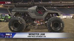 monster truck show nj monster jam this saturday at ford field video wjbk