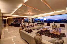 modern open floor plans lavish open floor living plan on marble floor at modern apartment