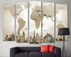 livingroom world world map world map print world map wall wall abstract
