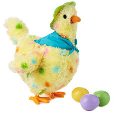 Online K Hen Squawkin U0027 Egg Droppin U0027 Mama Hen Interactive Stuffed Animal 10