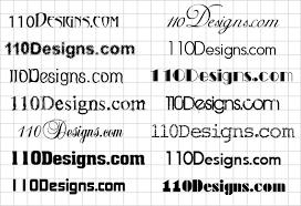 14 creative fonts for logo designs 110designs